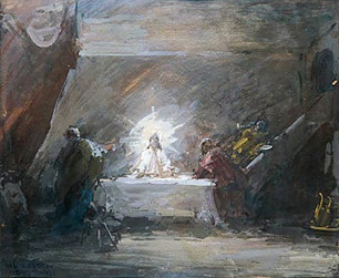 """La cena de Emaús"""
