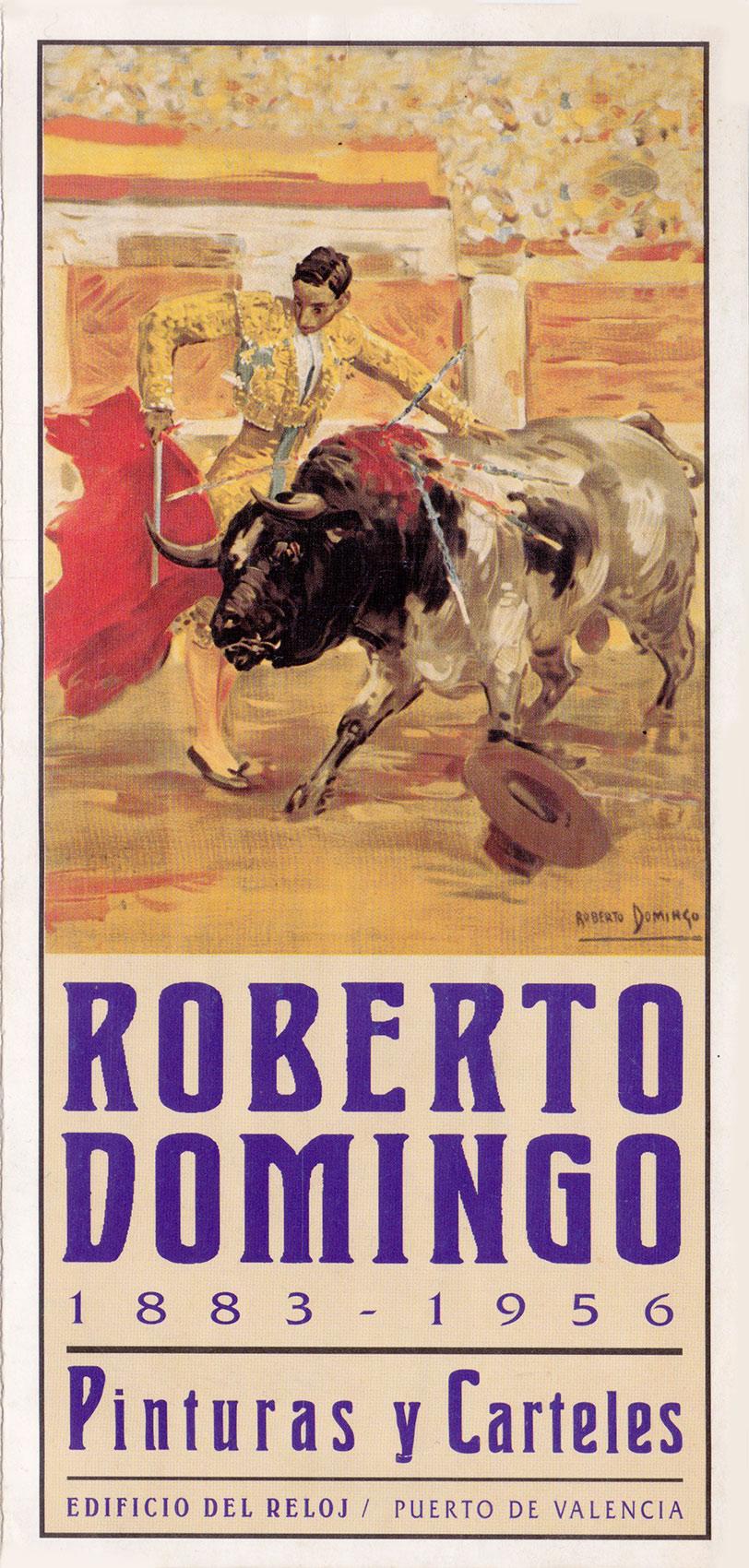 Roberto Domingo 1883-1956 Pinturas y Carteles