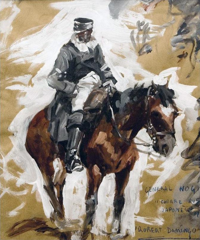"General Nogi ""Guerre Russe Japones"""