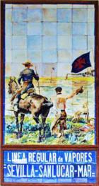 Tiled poster