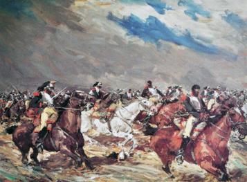 """""""Carga de caballería"""""""