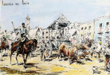 """""""Romerío Del Rocío. 2 de Agosto de 1947"""""""