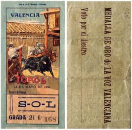 """""""Ticket de corrida"""" 7"""