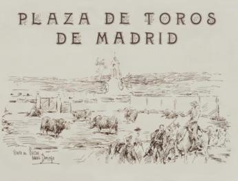 """Brochure """"Plaza de Toros de Madrid"""""""