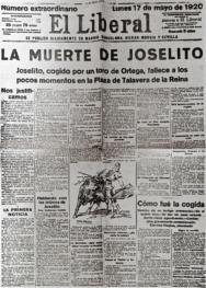"""""""La muerte de Joselito"""" 2."""
