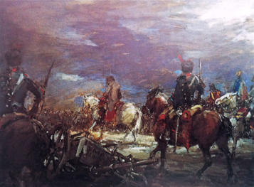 """""""Retirada de Napoleón"""""""