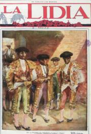 """""""En la puerta de toros"""" (Juan Belmonte)"""