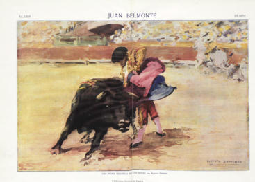 """""""Una media veronica de las suyas"""" (Juan Belmonte)"""