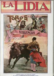 """""""Cartel de toros de las fiestas de Valencia"""""""