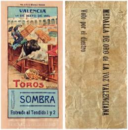 """""""Ticket de corrida"""" 2"""