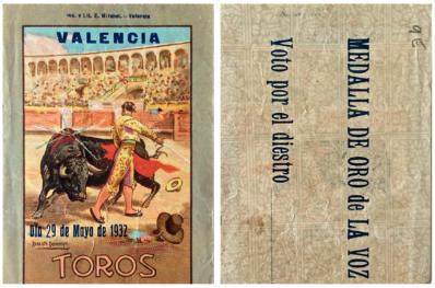 """""""Ticket de corrida"""" 3"""