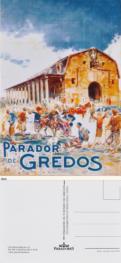 """Postcard """"Parador de Gredos"""""""