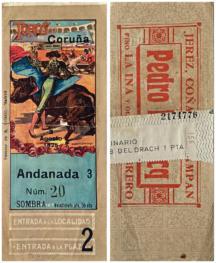 """""""Ticket de corrida"""" 8"""
