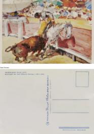 """Postcard """"Recalcando una vara"""""""