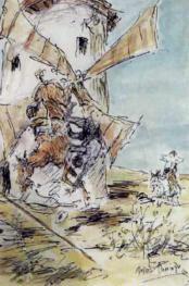 """Escena del Quijote"""