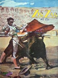 """Untitled. """"Zig Zag"""" magazine"""