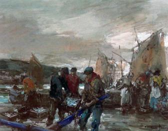 """""""Descargando la pesca. Galicia"""""""