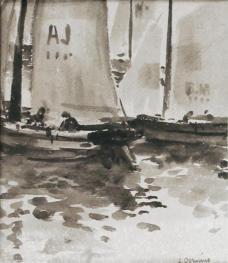 """""""Barcos de vela en Normandía"""""""