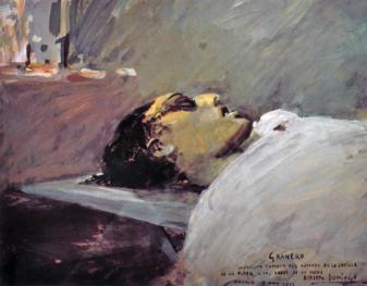 """Muerte de Granero"" 7 de Mayo 1922."