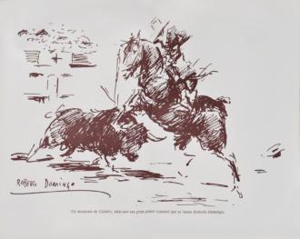 """Illustration for the book: """"El libro de Cañero"""""""