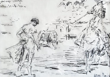 """""""Domingo Ortega. Toledo 20/8/1942"""""""